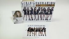 CD+DVD Girls Generation GENIE JAPAN Limited Photo card Jessica SNSD UPCH-89086