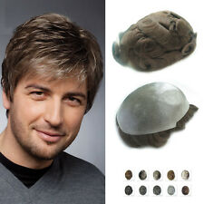 Nature Thin Skin Hair System Mens Toupee Mens Wig Hair replacement Noblehairplus