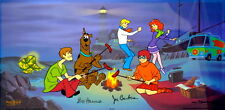Hanna Barbera Signed SCOOBY Cel A CLUE FOR SCOOBY DOO  Super Rare Edition cell