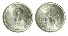 pcc1840_119) Thailand 20 baht 36th Anniversary of King Rama IX silver  1963
