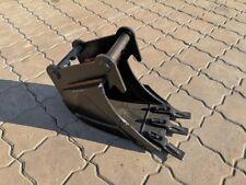 Tieflöffel Baggerlöffel passend Schnellwechsler MS01 Symlock 250 mm