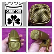 Grundig MD21 GOLDEN GDM121 & MZT21 VINTAGE Studio Broadcast Microphone 03 C 1962