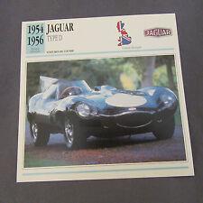 644C Edito Foglio Di Servizio Pieghevole Jaguar Tipo D