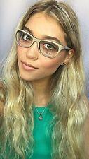 New Ray-Ban RB 9852 8753 53mm Gray Purple Women's Eyeglasses Frame