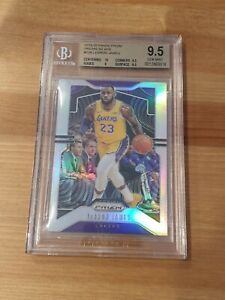 2019-20 Prizm Prizms Silver Lebron James BGS 9.5 Lakers Champion Year