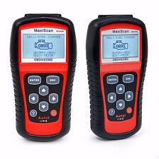 2 X Car Scanner Diagnostic Live Data Code Check Engine EOBD OBD2 OBDII MS509