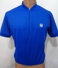 Canari Mens M Blue Short-Sleeve Bike Cycling Jersey Shirt