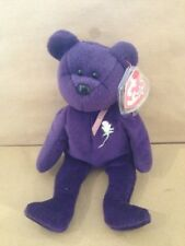 Beanie Bear - Princess Diana with both sewn tags, card tag and tag protector