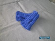 Baby-Kinder Pulswärmer Armstulpen Blau ca.8,5 cm