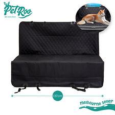 Pet Car Back Seat Cover Dog Cat Waterproof Mat Hammock Protector Clean Black