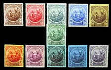 BARBADOS 1916 to 3/- SG181 to 191 (1d & 3d Have Small/Faults) NM741