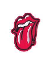 ROLLING STONES LOGO Iron on Patch Embroidered Badge Music Tongue Jagger PT166