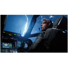 Scarlett Johansson as Black Widow piloting plane 8 x 10 Inch Photo