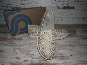 Women's Clarks Step Glow Natural Slip on Loafer Shoes Size 8 M ~ 41780