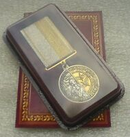 Ukraine FOR COURAGE CHERNOBYL Medal USSR Soviet Russian Nuclear Tragedy #2