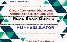 CCNA 200-301 Cisco Certified Network Associate exams questions and simulator