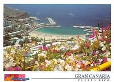 Spain Gran Canaria Puerto Rico Beach Plage Panorama Harbour