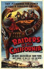 Raiders of Old California 1957 Jim Davis, Lee Van Cleef  Adventure Western DVD