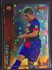 2012-13 Mundicromo Liga Gerard Deulofeu rare Lettras refractor rookie card