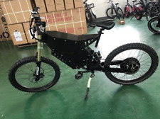 Stealth Bomber Mountain E-bike Electric Bicycle 72V 12000W FC-1 + 85 mph