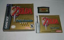 Legend of Zelda: A Link to the Past Four Swords Game Boy Advance GBA COMPLETE