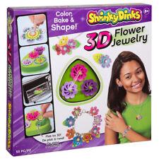 shrinky DinkS 3d Flor Joyería - Niños Manualidades Actividad Set