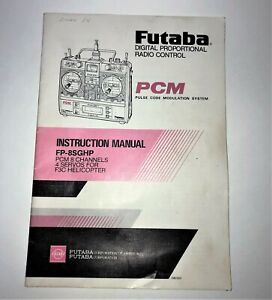 Instruction Manual for Futaba FP-T8SGHP PCM Transmitter 8SG  Back to The Future