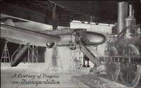 Chicago IL Century of Progress 1933 World's Fair Travel Transport Airplane PC