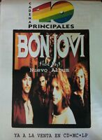 BON JOVI THESE DAYS SPANISH BIG PROMO POSTER 100cm X 140cm MUY RARO