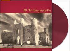 U2 The Unforgettable Fire LP HMV Limited Edition of 1000 Copies Red Wine Vinyl