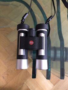 Leica Ultravid 10x25 BCA binoculars-silver line