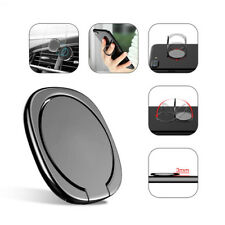 Universal 360° Finger Ring Cell Phone Holder Stand Car Magnetic Metal Plate