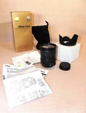 Nikon AF-S DX VR Zoom-Nikkor 18-200mm f/3.5-5.6G IF-ED in Box