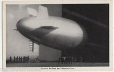 USA, Captive Balloon and Rigging Crew Postcard, B425