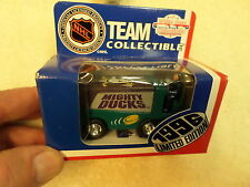 MIGHTY DUCKS ZAMBONI - 1996 WHITE ROSE - NIB - NHL LIMITED EDITION DIE-CAST
