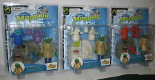The Muppet Show Koozebane Kermit Nocturna Red Glow In Dark Palisades Figure Set