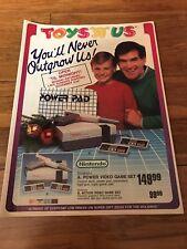 TOYS R US 1988 CATALOG NES GAME JAWS KARNOV LEGEND OF ZELDA II KARATE KID