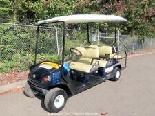 2014 Cushman Shuttle 6 Industrial Equipment Golf Cart Kawasaki Gas bidadoo