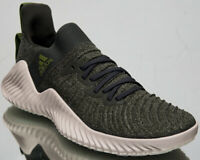 adidas AlphaBOUNCE Trainer Mens Cross Training Green Sneakers Shoes DB3364