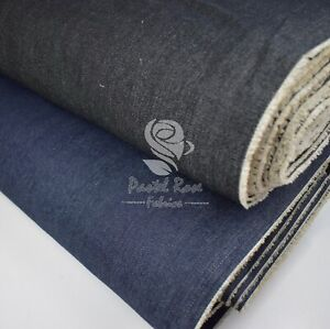 DENIM 7.5oz 100% Cotton Fabric extra wide 60"