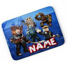 Personalised Roblox Game Mouse Mat Pad Computer Gaming Gift Boys Girls RB01