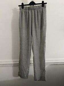 H&M Ladies Baggy Trousers Size 10
