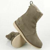 Lacoste Women's Baylen Lace Up High Shaft Suede Faux Fur Winter Boots UK 4 EU 37
