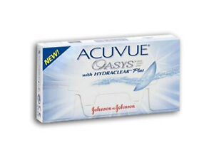 Acuvue OASYS Hydraclear PLUS 6 Kontaktlinsen BC 8.4 - OHNE OVP! - AUSVERKAUF!