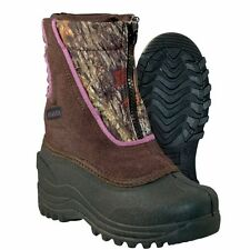 Girls Itasca SnowStomper Winter Boot Pink Camo Size 8 #QE987-931