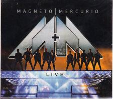 2 CD's / 1 DVD - Magneto Mercurio + Live DVD Con Todos Los Temas BRAND NEW !