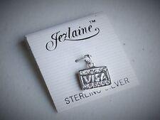 Jezlaine Designer Sterling Silver Sparkling Visa Credit Card Shopping Charm NOC