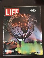 Life Magazine May 1, 1964 The World's fair Opens!!!