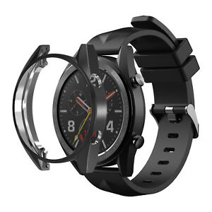 For Huawei Watch GT 46mm TPU Protective Bumper Sport Watch Frame Case Cover