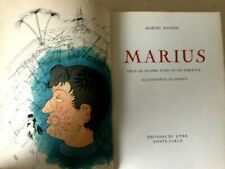 DUBOUT - PAGNOL (Marcel) Lithographies Mourlot / MARIUS - MONTE CARLO 1949